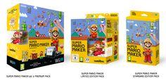Wii U getting a Super Mario Maker bundle in Europe - NeoGAF Super Mario Toys, Super Mario World, Wii U Games, News Games, Outlook Express, Nintendo, Video Game Companies, Perfect World, Mario Bros