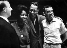 Nina Simone, Duke Ellington and Buddy Rich - Photo by Herb Snitzer