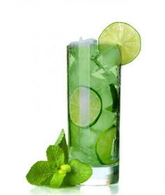 Spearmint Vodka Cooler  83 calories,