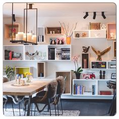 Muuto Stacked this is where you let your stuff (in storage) be your decor -- so.. hope you have tidy and interesting stuff!
