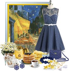 """Pause cafè"" by albaor ❤ liked on Polyvore"