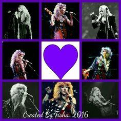 Wild Heart Wednesday, Stevie Nicks Collage Created By Tisha 06/08/16