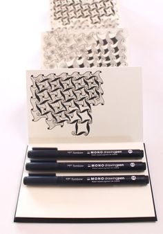 @mariebrowning learn to color zentangle in Time to Tangle in color