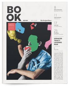 New York Times Book Review by Annie Jen, via Behance