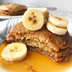 Oatmeal Blender Pancakes {Vegan & Gluten-Free} - Recipes to Cook - Gluten Free Breakfasts, Gluten Free Recipes, Vegan Recipes, Cooking Recipes, Gluten Free Vegan Pancakes, Vegan Oatmeal Pancakes, Celiac Recipes, Vegan Gluten Free Desserts, Vegan Ideas