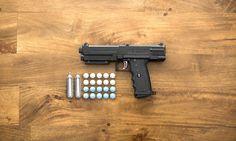 The Salt Gun Changes Home Defense