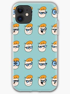 9 expressions of Dexter, the boy genius. whose head turned into an egg New Iphone, Dexter, Cotton Tote Bags, Iphone Case Covers, Cover Design, Finding Yourself, Egg, Artists, Boys