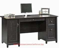 Sauder Edge Water Computer Desk, Estate Black  BUY NOW     $254.99    Finished in an elegant Estate Black finish with warm gold undertone the Edge Water collection presents a relaxed sophisticati ..  http://www.homeaccessoriesforus.top/2017/03/17/sauder-edge-water-computer-desk-estate-black-2/
