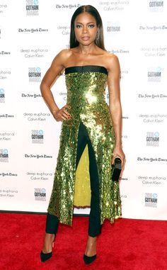Naomie Harris from Gotham Independent Film Awards 2016 Red Carpet Arrivals  This Hollywood star deserves a round of applause for her fashion risk, that totally paid off.