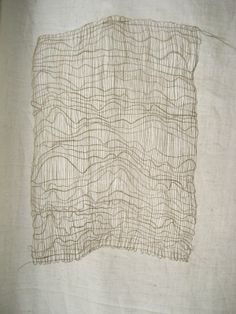 Erin Curry (inspired by painter, Agnes Martin) interesting, reminds me of textiles, but also contour maps. Textiles, Agnes Martin, Textile Fiber Art, Weaving Projects, Tapestry Weaving, Fabric Manipulation, Collages, Lana, Pattern Design
