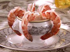 Shrimp Cocktail with Lemon Dipping Sauce Recipe : Sandra Lee : Food Network - FoodNetwork.com