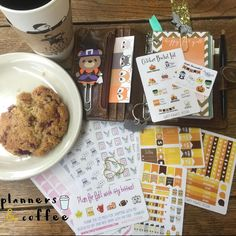 Sticker haul! Check out the adorable stickers we picked up from @sweetkawaiidesign and @bluescooterpress on #etsy!  #plannersandcoffee #planner #planneraddict #stickers #haul #kawaii