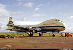 British United Air Ferries Aviation Traders ATL-98 Carvair G-ARSD (cn 10311/2)