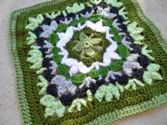Ravelry: Catalina Afghan Square by Julie Yeager