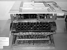 Typewriter - Henry Mill - 1714 - Help write letters or other written documents easier and easier to read.