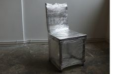 suspicious hanted chair installation  atelier dkf  stephane durand-kleinman véronique fohlen