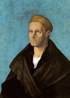Jakob Fugger der Reiche, 1519 (Jakob Fugger the Rich) by Albrecht Dürer in the collection of Staatsgalerie Altdeutsche Meister, Augsburg, Germany