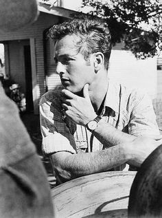 Paul Newman, 1961, a  great actor, so handsome, & great blue eyes.