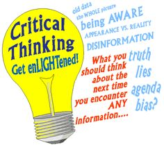 critical thinking - Google Search