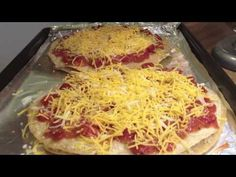 Homemade Pizza from Scratch (Low Carb Recipe) - Pizza Recipe - YouTube