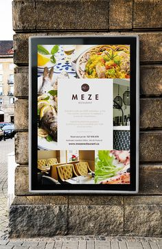 MEZE. Proudly designed by Headvertiser. www.headvertiser.com