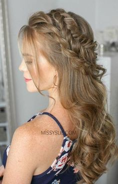 Long Straight Hairstyles Easy Fancy Hairstyles For Medium Hair Really Easy Hair Updos 20181229 Short Hair Updo, Half Braided Hairstyles, Braided Hairstyles Tutorials, Fancy Hairstyles, Straight Hairstyles, Long Hair, Scarf Hairstyles, Spring Hairstyles, Latest Hairstyles