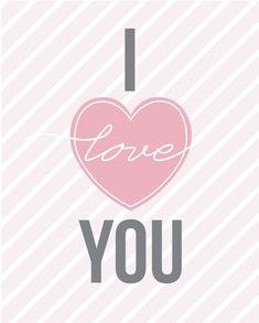 {Freebie} Valentine's Day Art Prints! | Pizzazzerie