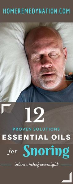 12 Best Essential Oils and Recipes for Snoring | Home Remedy Nation