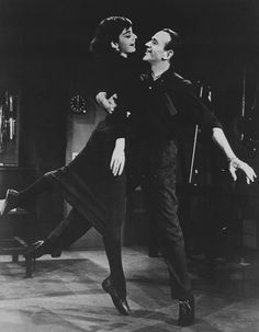 """Audrey Hepburn & Fred Astaire in """"Funny Face"""". Golden Age Of Hollywood, Classic Hollywood, Old Hollywood, Fred Astaire, Audrey Hepburn Style, Audrey Hepburn Funny Face, Funny Love, Old Movies, Breakfast At Tiffanys"""