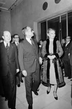 Mohammad Reza Pahlavi et Farah Pahlavi en 1978