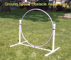 DIY Agility Equipment-(Do it yourself ideas/hints) - German Shepherd Dog Forums Dog Agility Course -The Eequipment mentioned in our article for dog agility training includes dog weave poles, dog jumps, dog tunnels, dog walks and more! Agility Training For Dogs, Dog Agility, Training Your Dog, Agility Course For Dogs, Training Tips, Dog Training Equipment, Training Videos, Dog Forum, Dog Enrichment