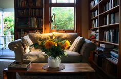 Reading nook How To Design a Reading Room