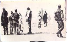 Moleskine J #034 graphite pencil drawing
