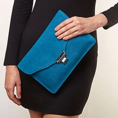 Royal Blue Clutch at INR 875/-  Simplicity and style in a dreamy shade of blue! #royalblue #clutchaffair #datenight