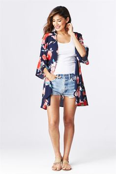 Oversized Floral Kimonos | Made in USA | New Colors