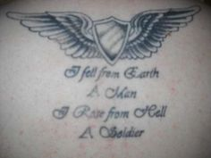 aviation wings tattoo | Report as Inappropriate