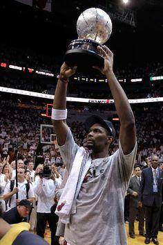 Chris Bosh - Miami Heat - ECF Champs -- #ProBasketballMiamiHeat