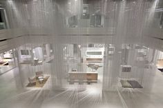 Burkard Meyer y Kriska Decor llevan la lluvia al showroom de Talsee en Suiza.   diariodesign.com