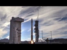 Atlas V Rocket Launches From Vandenberg Air Force Base