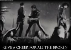 Welcome to the Black Parade - My Chemical Romance (gif)