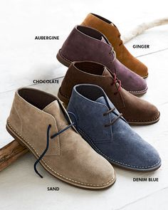 Classic Desert Boot - Unisex at Cotton Traders