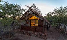 Etosha Village kombineer bekostigbaarheid en gerief en bied die perfekte safari-ervaring in 'n privaat en beskermde reservaat langs die Etosha Nasionale Park naby Okaukuejo. Verken Namibië se diereryk met begeleide wildritte na Etosha Nasionale Park. Geniet die wandelroetes in die reservaat met verskeie wilde diere wat vanaf die uitkykdekke en skuilings gesien kan word. Gaste kan ook die pragtige sonsondergange en die bekende sterrehemel gedurende skemerkelkieritte en sterrekyksessies… Meditation Retreat, Safari Adventure, Luxury Tents, Entrance Gates, Lodges, Glamping, Swimming Pools, Cottage, House Styles