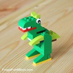 20 Simple Projects for Beginning LEGO Builders 20 Simple Projects for Beginning Lego Builders – Frugal Fun For Boys This. Lego Duplo, Robot Lego, Lego Basic, Legos, Kids Crafts, Modele Lego, Classic Lego, Lego Challenge, Lego Juniors
