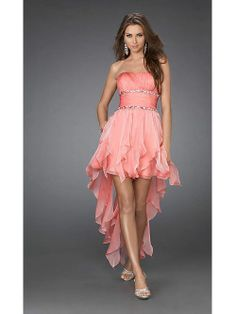 Affordable Prom Dresses high low prom dress