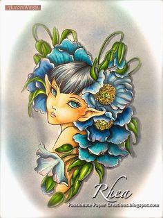 Himalayan Blue Poppy image by Mitzi Sato-Wiuff