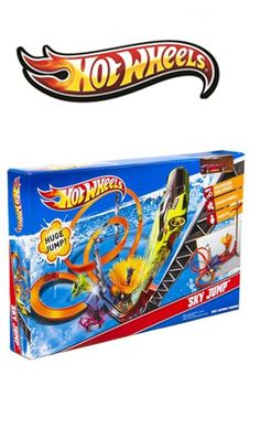 OFFERTA DI NATALE: Pista Sky Jump Hot Weels da € 78,00 a € 46,80! http://www.lachiocciolababy.it/giochi-giocattoli-per-bambini/7430-pista-sky-jump-hot-weels.html