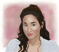 Meghan Rath portrait  by Igotmo4.deviantart.com on @deviantART