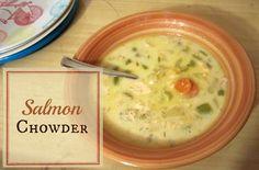 Reviews, Chews & How-Tos: Salmon Chowder