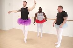 Diese Bodybuilder versuchen zum ersten Mal Ballett und dir wird das Herz aufgehen