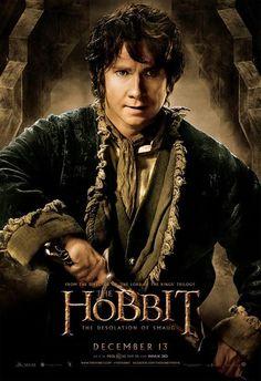 The Hobbit: The Desolation of Smaug Banners - Martin Freeman is Bilbo Baggins